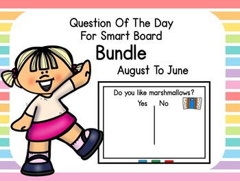 Question Of The Day Smart Board BUNDLE