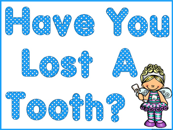 Question Of The Day  Whole Class Graph - Have You Lost A Tooth?  Dental Health