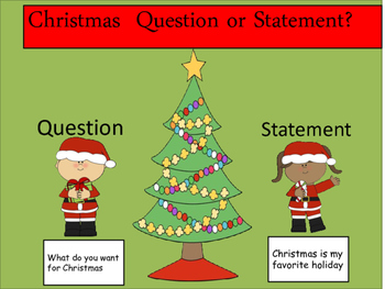 Question Or Statement Christmas Edition