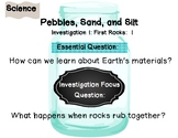 Question Posters for FOSS Pebbles, Sand, and Silt Science Unit