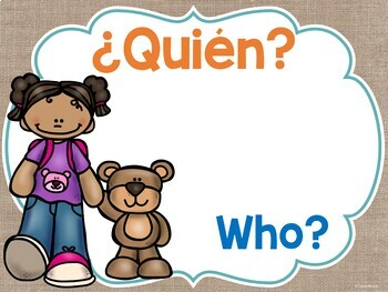 Question Posters in English & Spanish