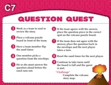 Question Quest (Common Core RI 3.1, RL 3.1)