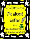 Question Sheet - A to Z Mysteries - The Absent Author (510 Lexile)