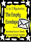 Question Sheet - A to Z Mysteries - The Empty Envelope (500 Lexile)