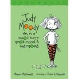 Question Sheet - Judy Moody - Bad Mood #1