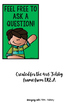 Question Sign: Classroom Management Freebie
