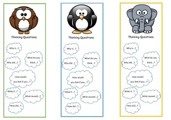 Question Starter Bookmarks
