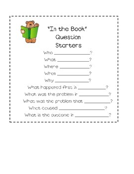 Question Starters