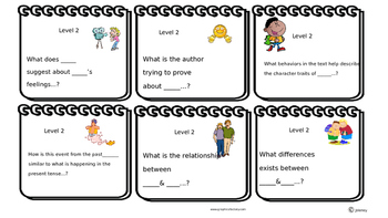 Question Stem Cards Levels 2 & 3