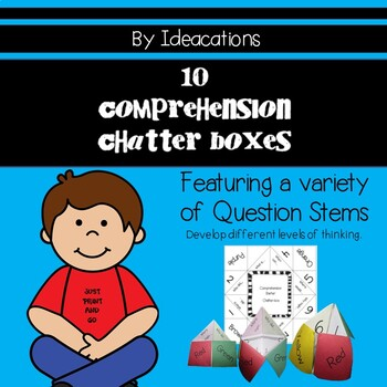 Question Stems - 10 Comprehension Chatterboxes
