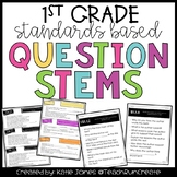 Question Stems - 1st Grade Standards Based
