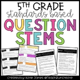 Question Stems - 5th Grade Standards Based