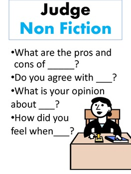 Question Stems for Fiction and Non Fiction