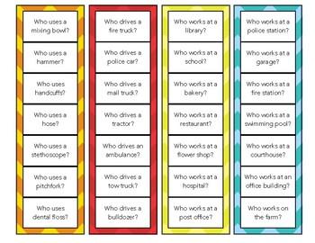 Question Strip Cards Version 2