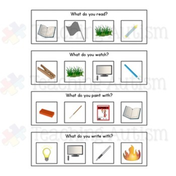 Question Task Cards