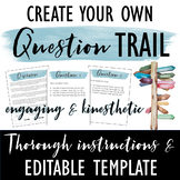 Question Trail Template: Engaging Kinesthetic Activity for