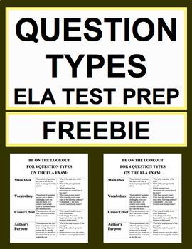 Question Types ELA