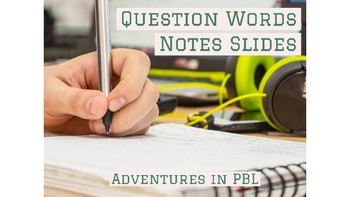 Question Word Notes