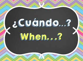 Question Word Posters - 3 Designs