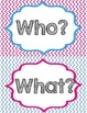 Question Word Posters FREEBIE-Smaller version
