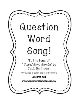 Question Word Song