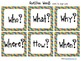 Learning Cube Question Words inserts