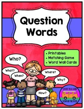 Question Words BUNDLE