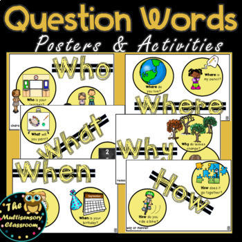 Question Words for Reading Comprehension