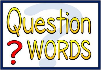 Question Words (BUNDLE PACK)