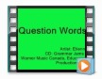 Question Words (Music Video) - from Grammar Jams 2 CD& DVD
