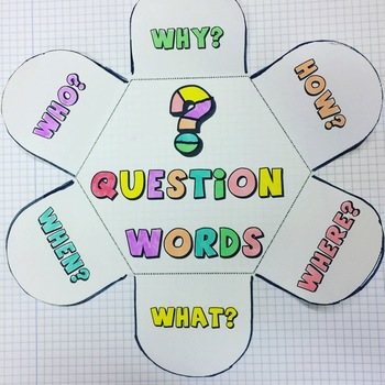 Question Words Petal Book