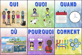 Question Words Poster – French