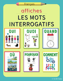 Question Words Posters – French | Affiches: Les Mots Inter