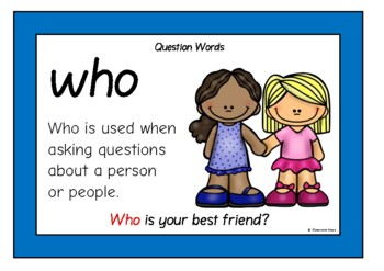 Question Words Prompts