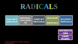 Question and Answer Game with Radicals