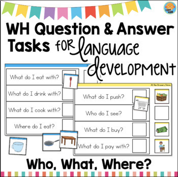 Question and Answer Mats for Language Development