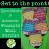 Question and Answer Prompts Mini-Posters