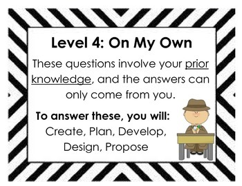 Question and Response (QAR) Posters