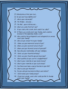 Question lists for counseling (divorce, feelings, coping, etc)
