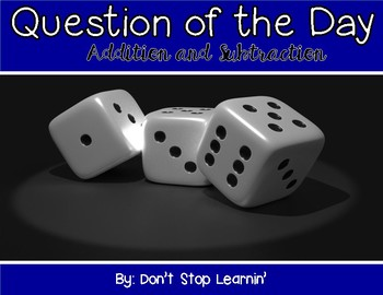 Question of the Day: Addition and Subtraction
