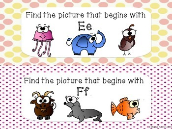 Question of the Day (Animal Beginning Sounds)