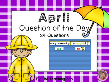 Question of the Day {April}