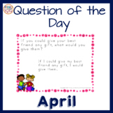 Question of the Day Writing Prompts and Conversation Start