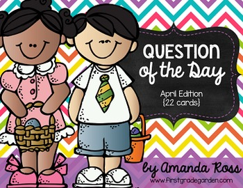 Question of the Day: April Edition {22 cards}