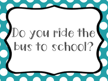 Question of the Day: August (Back to School)