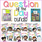 Question of the Day Cards - 240 Editable Seasonal & Evergr