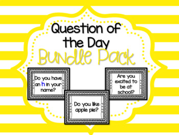 Question of the Day Bundle Pack
