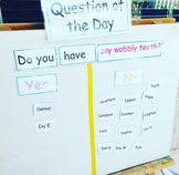Question of the Day Bundle for Preschool, Pre-K, and Kinde