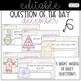 Question of the Day - December (EDITABLE!)