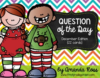 Question of the Day: December Edition {22 cards}